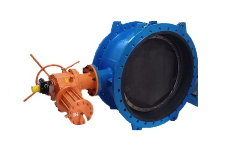 Electric & Hydraulic Actuator With Control Valve